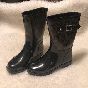 MK Signature Rain Boots